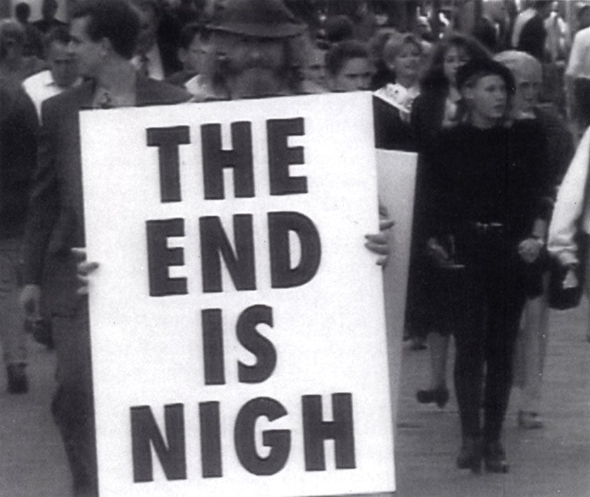 developer strengths curiosity the end is nigh sign