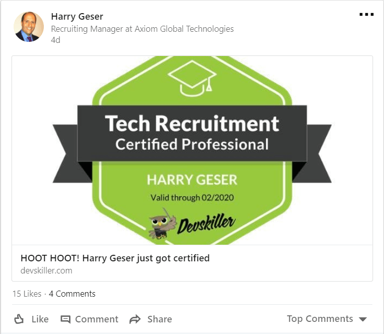 how to become a recruiter in tech