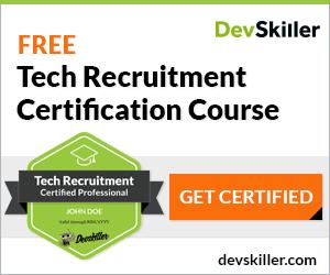 Banner für die Tech-Rekrutierung Zertifizierung