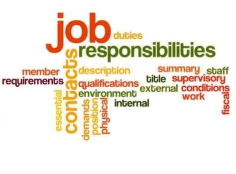 Job Responsibilities and Duties when writing a good job posting